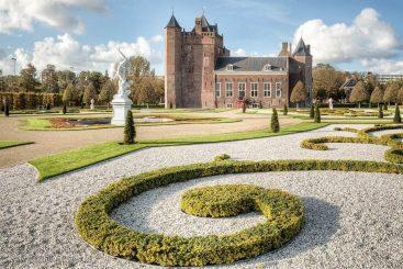 Het kasteel Slot Assumburg, Heemskerk